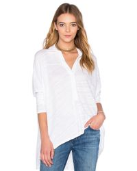 Fine by Superfine - White Square Shirt - Lyst