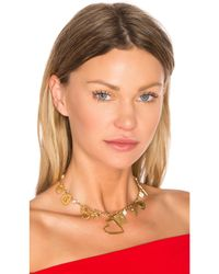 Frasier Sterling | Metallic Jenny From The Block Choker | Lyst
