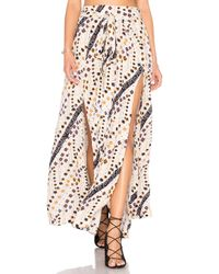 Free People   White Remember Me Maxi Skirt   Lyst