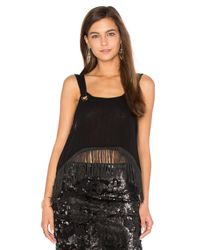 Free People | Black Midnight Moves Top | Lyst