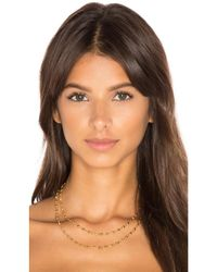 Gorjana | Metallic Layer Bali Wrap Necklace | Lyst