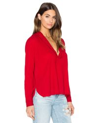 The Great - Multicolor The Pleat Top - Lyst