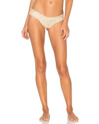 Hanky Panky - Multicolor Golden Leopard Low Rise Thong - Lyst