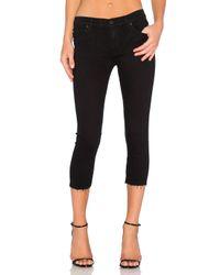 Hudson Jeans | Black Fallon Crop | Lyst