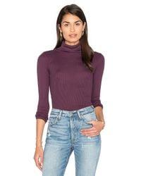 Joe's Jeans | Purple Gayle Turtleneck Sweater | Lyst