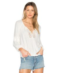 Joie | White Orval Blouse | Lyst