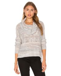 Lamade | Gray Jody Cowl Neck Sweater | Lyst
