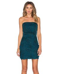 Lovers + Friends | Blue Break Free Bodycon Dress | Lyst