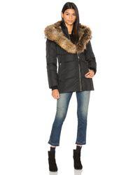 Mackage - Black Akiva Asiatic Raccoon Fur And Rabbit Fur Coat - Lyst
