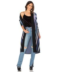 Mara Hoffman | Multicolor Compass Knit Long Cardigan | Lyst