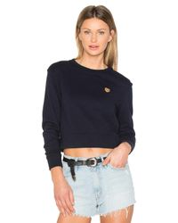Mother - Blue X Miranda Kerr Open Your Heart Sweatshirt - Lyst