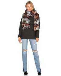 Maison Scotch | Multicolor Double Sided Pattern Scarf | Lyst