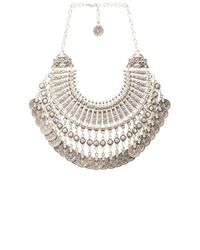 Natalie B. Jewelry | Metallic Natalie B Fit For A Queen Necklace | Lyst