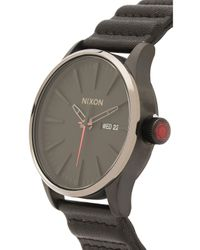 Nixon | Natural X Star Wars Kylo Ren The Sentry Leather for Men | Lyst