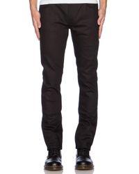 Nudie Jeans | Black Thin Finn for Men | Lyst
