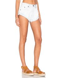 One Teaspoon - White Bandits Short - Lyst