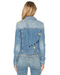 PAIGE | Blue Wylder Jacket | Lyst