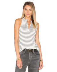 Project Social T - Multicolor Hank Stripe Tank - Lyst