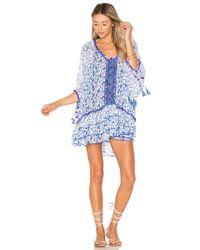 Poupette | Blue Bobo Poncho Dress | Lyst