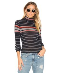 Rag & Bone | Multicolor Rib Turtleneck Sweater | Lyst