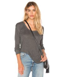 Rag & Bone | Gray 90's Long Sleeve Tee | Lyst