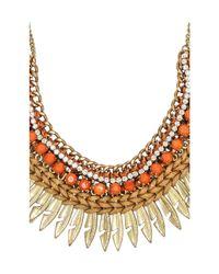 Raga | Metallic Spike Chain Necklace | Lyst