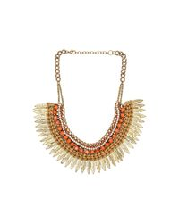 Raga | Metallic Spike Chain Necklace | Lyst