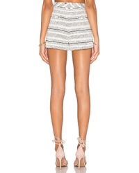 Rebecca Minkoff Green Antiope Cotton-Blend Shorts