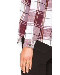 RVCA - Multicolor Jig Button Up - Lyst