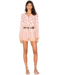 Sanctuary | Natural Brown Eyed Girl Romper | Lyst