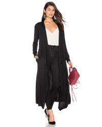 Splendid | Black Durango Duster Jacket | Lyst