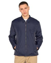 Stussy | Blue Insulated Bing Jacket for Men | Lyst