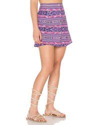 Stela 9 - Purple Ortiz 90's Skirt - Lyst