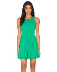 Susana Monaco - Green Piper Dress - Lyst