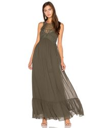 Twelfth Street Cynthia Vincent | Multicolor Front Embellishment Maxi Dress | Lyst