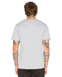 Undefeated - Gray Lo-fi Strike Tee for Men - Lyst