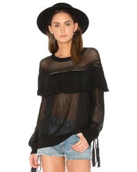 Wildfox | Black Solid Sweater | Lyst