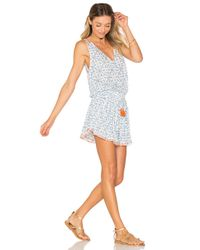 Poupette - Blue Hana Mini Dress - Lyst