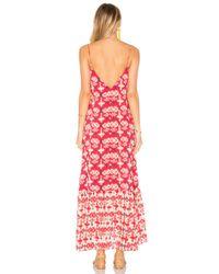 ViX - Red Kali Elma Maxi Dress - Lyst