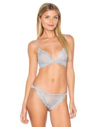 Only Hearts - Blue So Fine Lace Bralette - Lyst