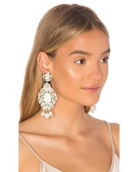 Ranjana Khan - White Something Blue Earrings - Lyst