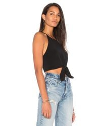 Motel | Black Knot Your Crop | Lyst
