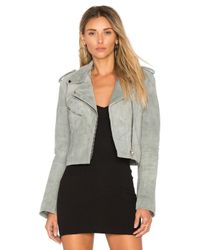 Urban Outfitters - Gray Cropped Bell Sleeve Mc Jacket - Lyst