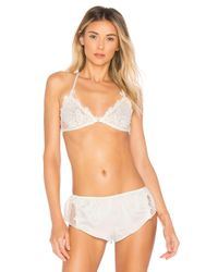 Flora Nikrooz - White Showstopper Bra - Lyst