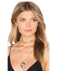 Samantha Wills - Metallic Nightfall Lustre Pendant Necklace - Lyst
