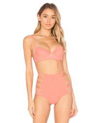 Tori Praver Swimwear | Multicolor Eva Bikini Top | Lyst