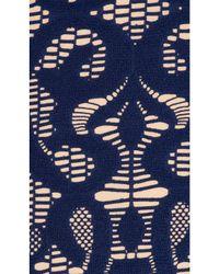 Nanette Lepore - Blue Crochet Goddess One Piece - Lyst