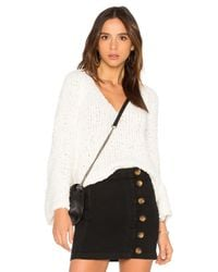 Free People - White Sand Dune Pullover - Lyst