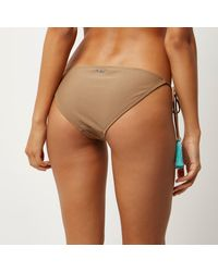 River Island | Ri Resort Brown Tassel Bikini Bottoms | Lyst