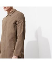 River Island - Brown Smart Mac Coat for Men - Lyst